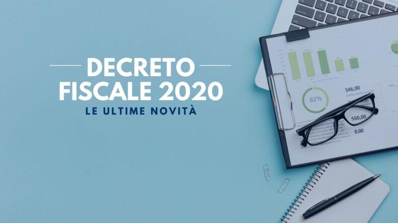 NOVITA' DEL DECRETO FISCALE 2020 (D.L. 124/2019)