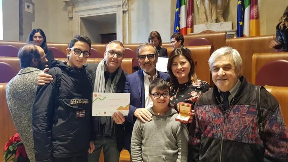 Dinamica Rocca Priora vince il premio GJC Global Junior Challenge 2019