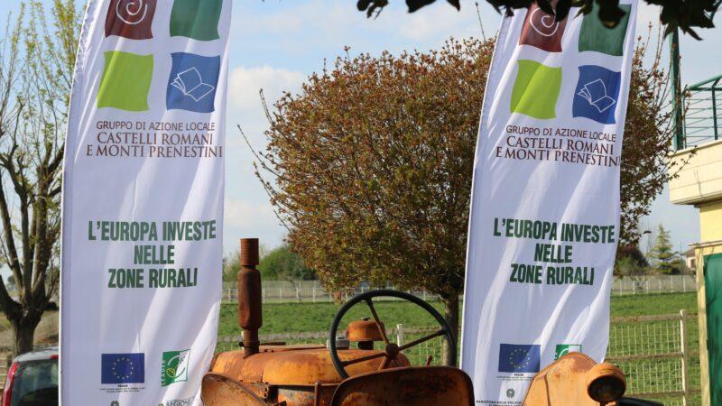 GAL CASTELLI ROMANI E MONTI PRENESTINI  TRE NUOVI BANDI A SOSTEGNO DELL'AGRICOLTURA LOCALE