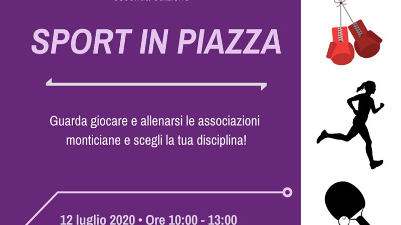 """Monte Compatri: """"Sport in piazza"""", al via la seconda edizione"""