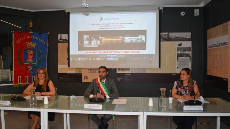 Pomezia, presenta il nuovo progetto del nuovo teatro comunale