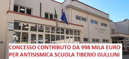 Comune di Colonna, edilizia scolastica