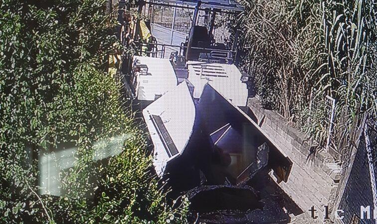 Segnalazione su un'asfaltatura non completa ad Albano Laziale