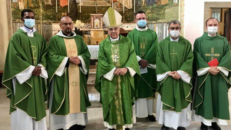Frattocchie (Marino), Mons. Semeraro consegna mandato a Don Patrizio