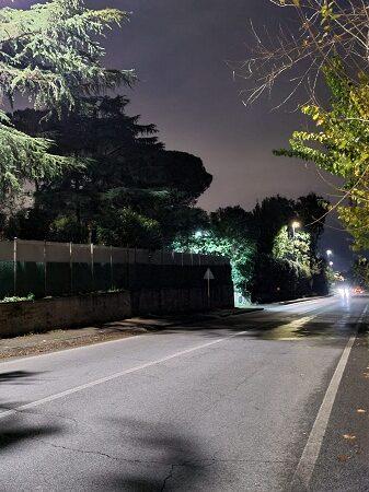 Colonna, terminati i lavori di efficientamento energetico su Via Casilina