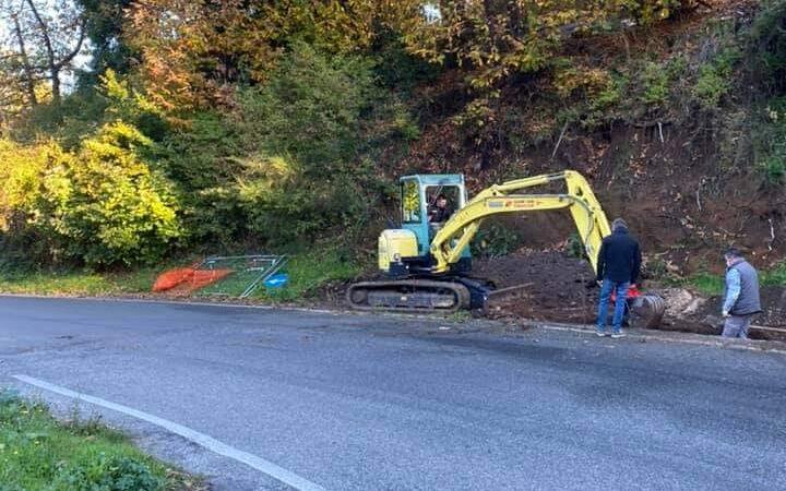 Monte Compatri, ripresi i lavori a Via Ciaffei