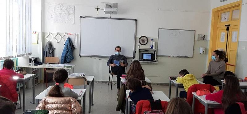 """Dialetto Colonna, il Sindaco Giuliani """"professore"""" alla Scuola Primaria"""