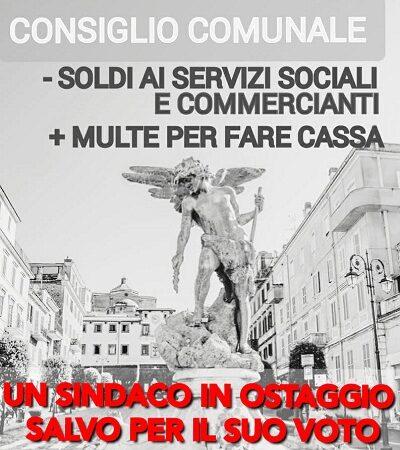 """Monte Compatri Bene Comune: """"Meno soldi a Servizi Sociali e Commercianti, più multe per fare cassa. D'Acuti sempre più solo"""""""