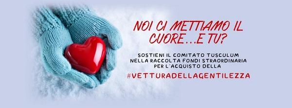 Raccolta Fondi CRI Tusculum: la Vettura della Gentilezza è anche tua!