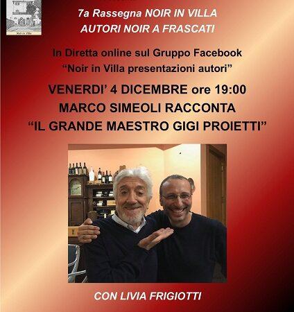Frascati, Marco Simeoli racconta il grande Maestro Gigi Proietti