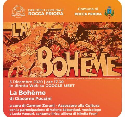 """Rocca Priora, """"Alla Stagione dei Fiori"""": II atto de La Bohéme raccontato da Sebastiani e Vaccari"""