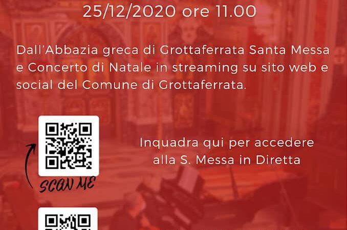 """""""Note di Speranza"""" il concerto natalizio all'Abbazia San Nilo (Grottaferrata)"""