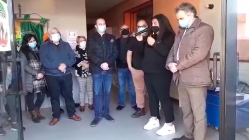 """Lariano, aperta la nuova sede """"Banco Alimentare"""" dell'Associazione """"Arditi Sentieri"""""""