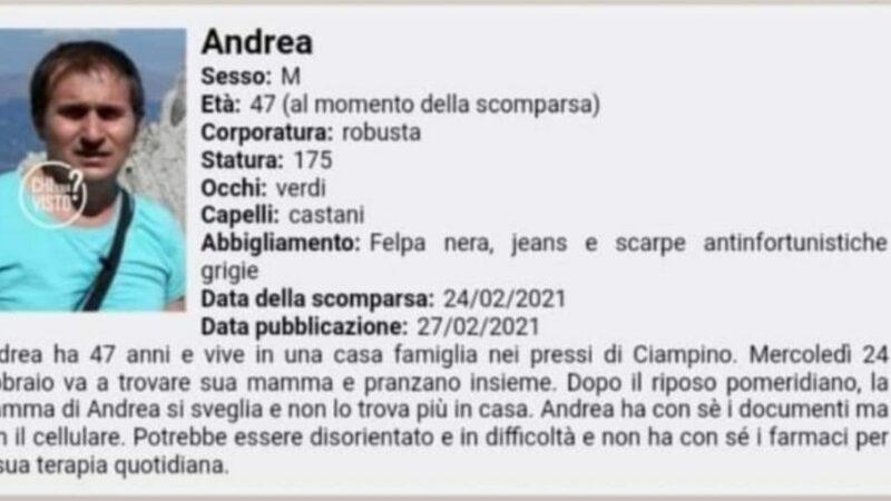 Cava dei Selci (Marino), si cerca ancora Andrea Toppi: i dettagli