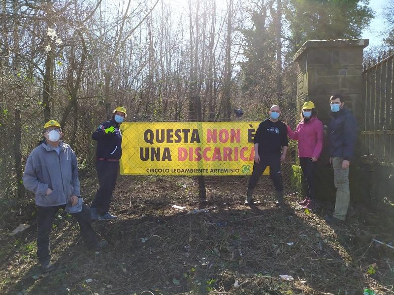Velletri, ancora pulizia dei boschi dal Circolo Legambiente Artemisio