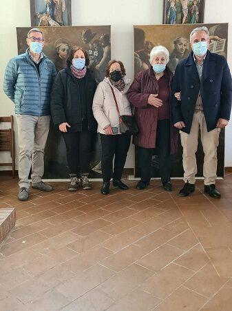Colonna – Tornano a casa le tele di San Bernardino da Siena e San Giacomo della Marca