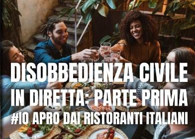 Roma, negazionisti a cena a Centocelle. Poi manifestano a Campo de' Fiori