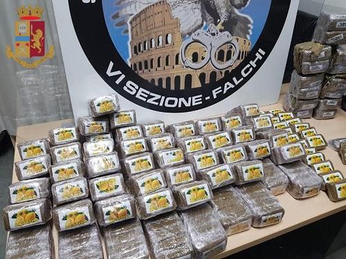 Roma-Tuscolana, traffico di droga: 2 arresti