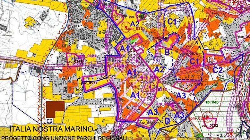 Congiunzione Parco Appia Antica e Parco Castelli Romani, la lunga marcia delle associazioni e di Italia Nostra Marino