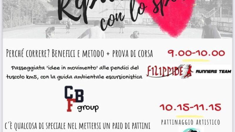 """Monte Porzio, 28 febbraio """"RiparTIAMO con lo Sport"""". A breve aree per basket e sport all'aperto"""