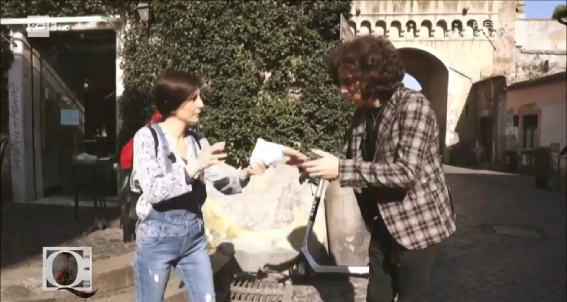 "Velletri, Shany Martin ospite a ""Quante Storie!"" su Rai3 (VIDEO)"