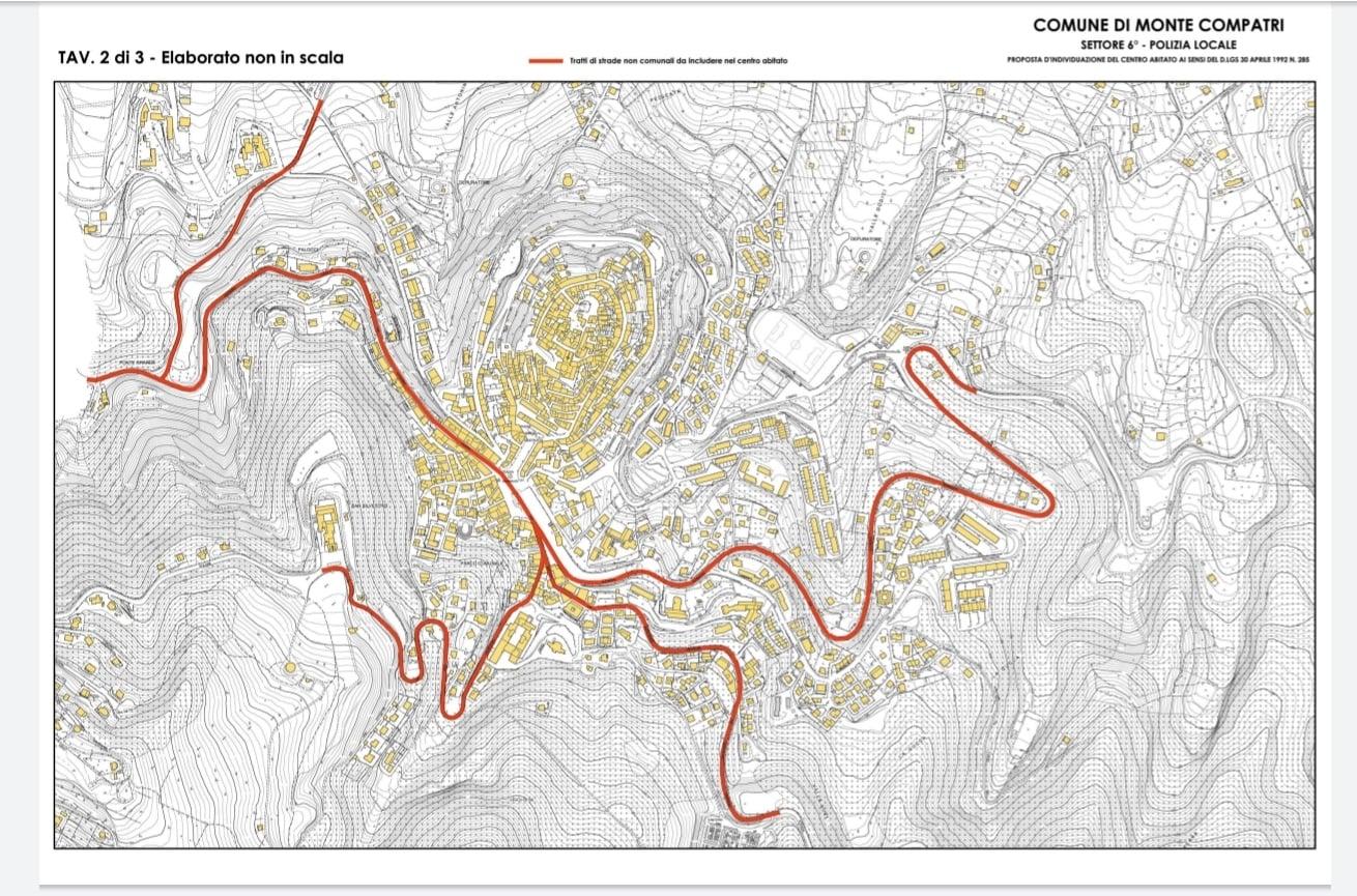 Monte Compatri, approvata delibera per ampliamento del centro urbano
