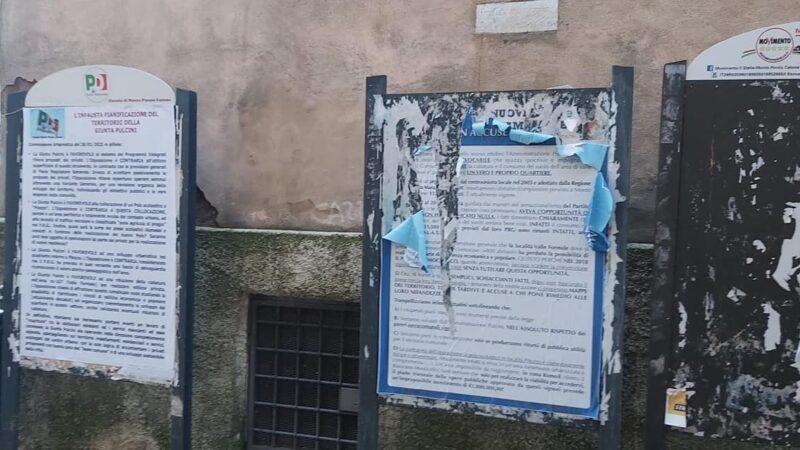 """Manifesti strappati, la denuncia di """"Viviamo Monte Porzio"""""""