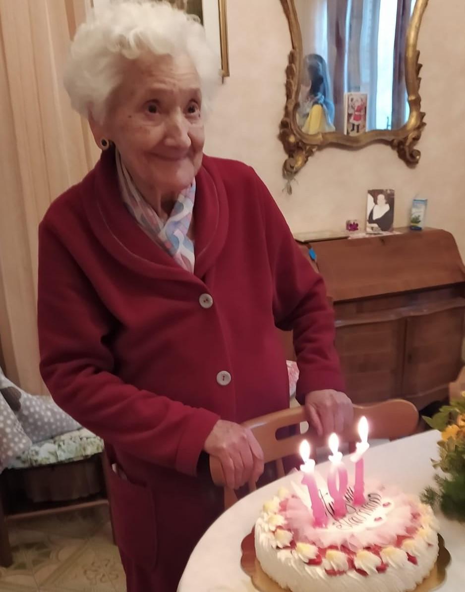Monte Compatri festeggia i 101 anni di Nonna Anna!