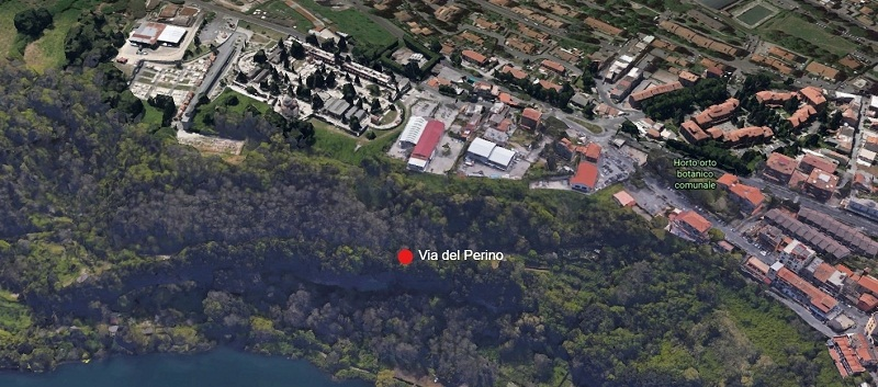 Genzano – Finanziamento per messa in sicurezza di Via del Perino