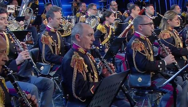 Colonna, il Maestro Antonio Amanti (della Banda della Polizia di Stato) a Sanremo 2021