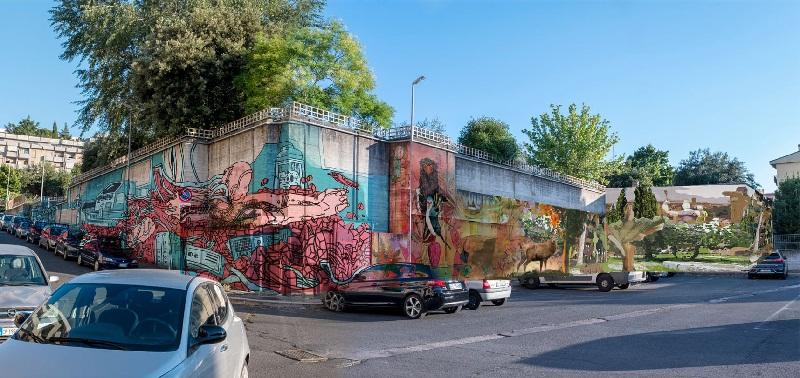 Cocciano (Frascati), al via la street art di Nature Concrete e Il Circo