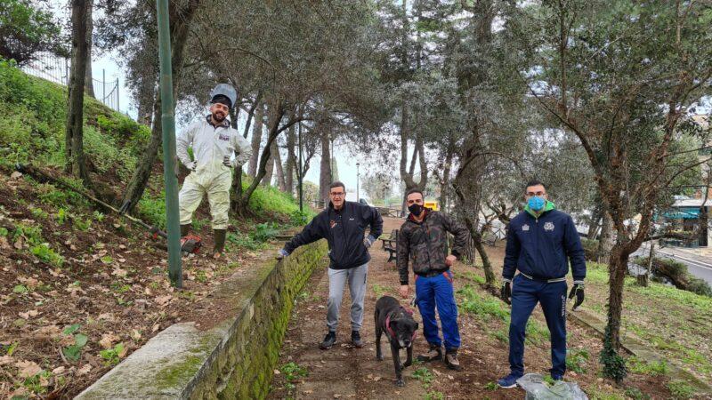Colonna – Giornata ecologica, Parco Tofanelli si rifà il look!